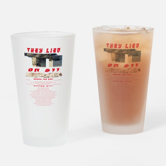 Cool Twin towers Drinking Glass