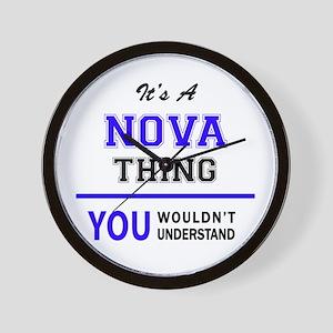It's NOVA thing, you wouldn't understan Wall Clock