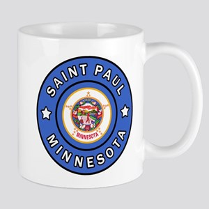 Saint Paul Minnesota Mugs