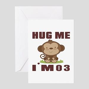 Hug Me I Am 03 Greeting Card