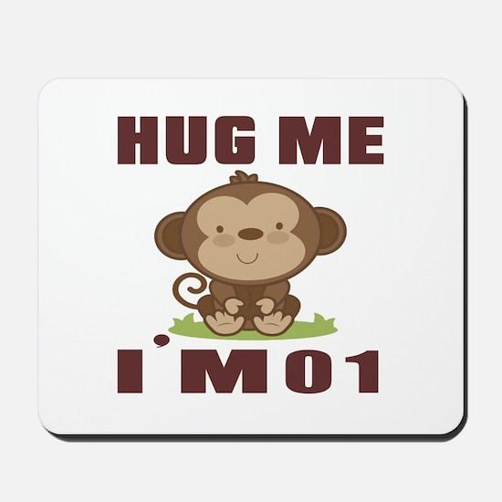 Hug Me I Am 01 Mousepad