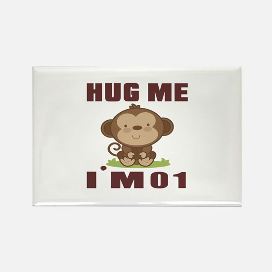Hug Me I Am 01 Rectangle Magnet