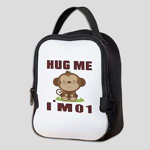 Hug Me I Am 01 Neoprene Lunch Bag