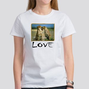 Cheetah Love Women's T-Shirt