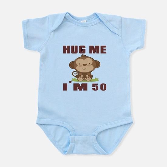 Hug Me I Am 50 Infant Bodysuit