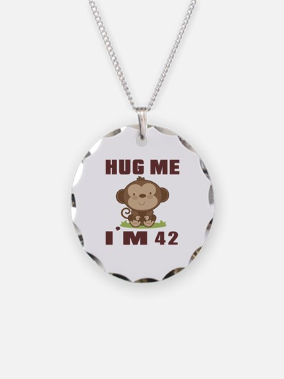 Hug Me I Am 42 Necklace