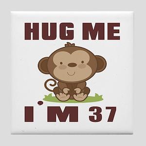 Hug Me I Am 37 Tile Coaster