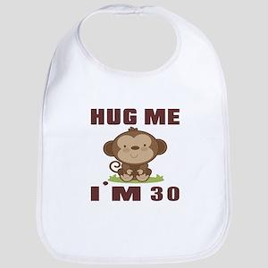 Hug Me I Am 30 Bib
