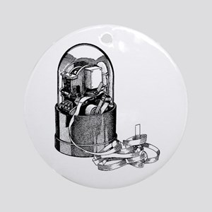 Ticker Machine Ornament (Round)