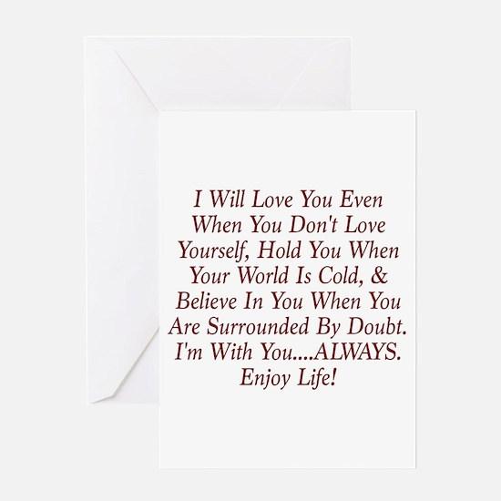 ALWAYS Enjoy Life! Greeting Cards