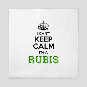 Rubis I cant keeep calm Queen Duvet