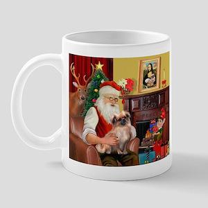 Santa's Tibetan Spaniel Mug