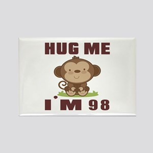 Hug Me I Am 98 Rectangle Magnet