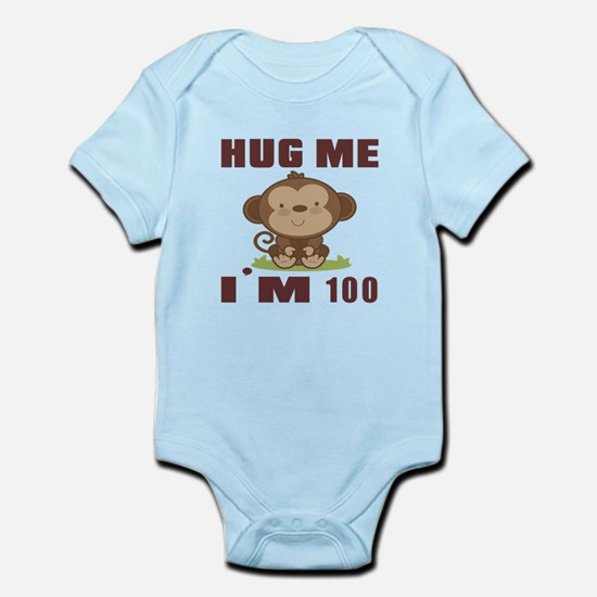 Hug Me I Am 100 Infant Bodysuit