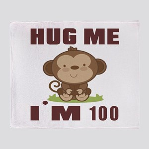Hug Me I Am 100 Throw Blanket