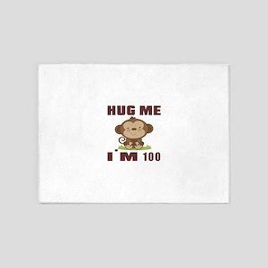 Hug Me I Am 100 5'x7'Area Rug
