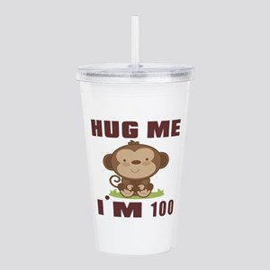 Hug Me I Am 100 Acrylic Double-wall Tumbler