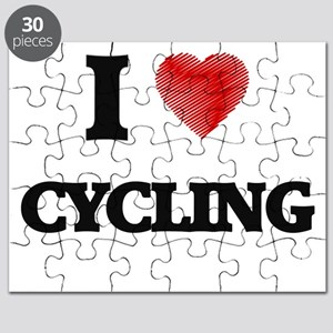 I Love Cycling Puzzle