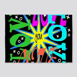 Love You 5'x7'Area Rug