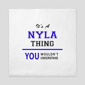 It's NYLA thing, you wouldn't understa Queen Duvet