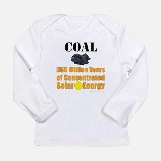 Coal Is Solar Infant Long Sleeve T-Shirt