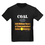 Coal Is Solar Kids Dark T-Shirt