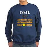 Coal Is Solar Sweatshirt (dark)
