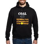 Coal Is Solar Hoodie (dark)