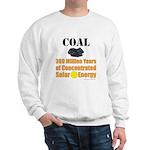 Coal Is Solar Sweatshirt