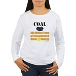 Coal Is Solar Women's Long Sleeve T-Shirt