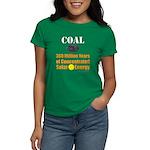 Coal Is Solar Women's Dark T-Shirt