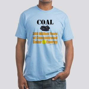 Coal Is Solar Fitted T-Shirt
