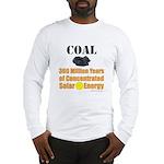 Coal Is Solar Long Sleeve T-Shirt