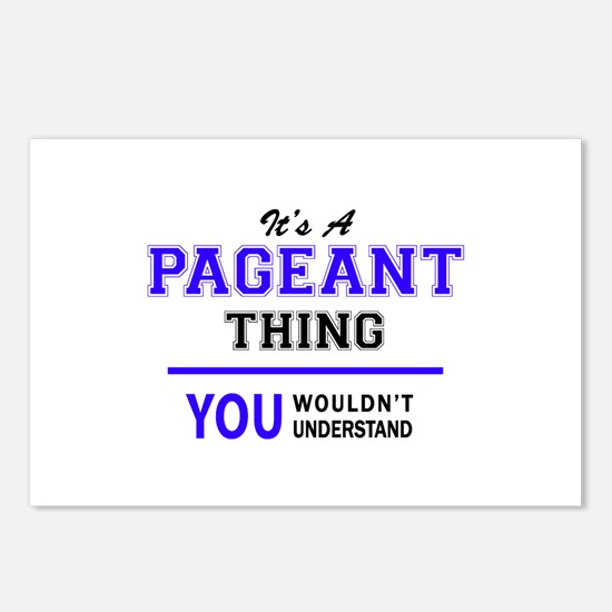 It's PAGEANT thing, you w Postcards (Package of 8)