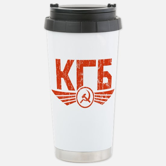 KGB Emblem Red Mugs