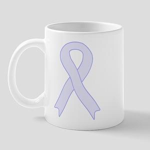 Lavender Ribbon Mug