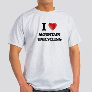 I Love Mountain Unicycling T-Shirt