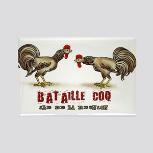 Rooster Rectangle Magnet