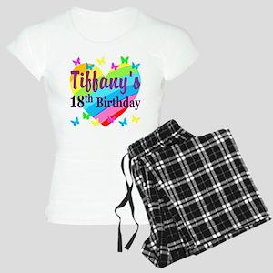 PERSONALIZED 18TH Women's Light Pajamas