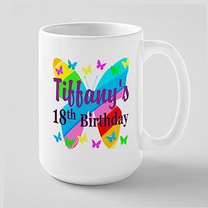 PERSONALIZED 18TH Large Mug