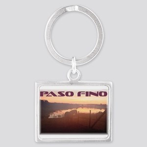 Keychains With Paso Fino Sunrise