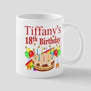 PERSONALIZED 18TH Mug