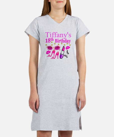 PERSONALIZED 18TH Women's Nightshirt