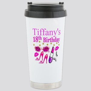PERSONALIZED 18TH Stainless Steel Travel Mug