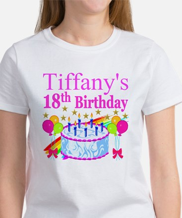 PERSONALIZED 18TH Women's T-Shirt