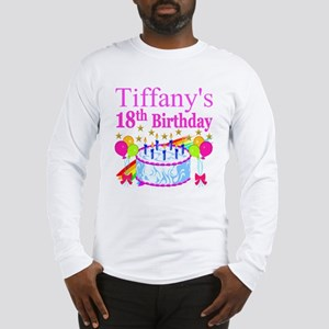 PERSONALIZED 18TH Long Sleeve T-Shirt