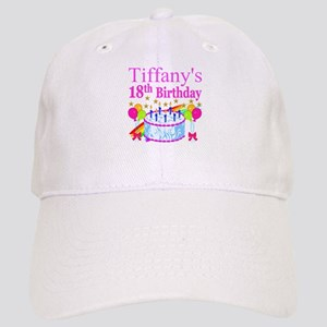 PERSONALIZED 18TH Cap