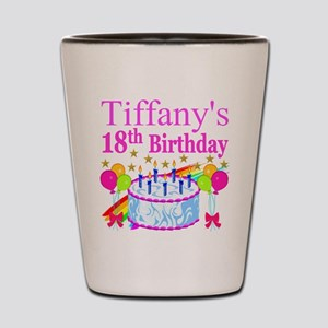 PERSONALIZED 18TH Shot Glass