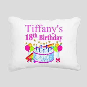 PERSONALIZED 18TH Rectangular Canvas Pillow