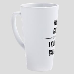 Bar Exam - Law Students Gifts 17 oz Latte Mug